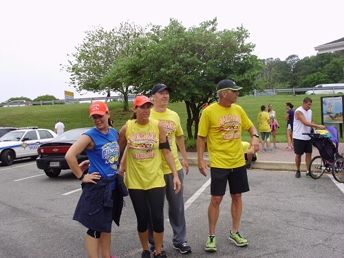 Smcso Hosts Torch Run For Special Olympics Calvert Beacon